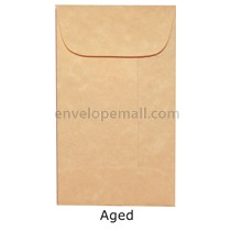 "Magna Carte Aged - Mini Open End (2-1/4 x 3-3/4"") Envelope 100 Pack"