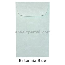 "Magna Carte Britannia Blue - Mini Open End (2-1/4 x 3-3/4"") Envelope 100 Pack"