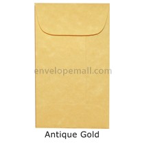 "Magna Carte Antique Gold - Mini Open End (2-1/4 x 3-3/4"") Envelope 100 Pack"