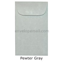 "Magna Carte Pewter Gray - Mini Open End (2-1/4 x 3-3/4"") Envelope 100 Pack"