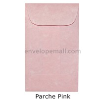 "Magna Carte Parche Pink - Mini Open End (2-1/4 x 3-3/4"") Envelope 100 Pack"