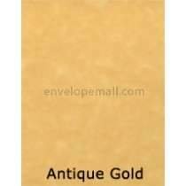 "Magna Carte Antique Gold 60 lb Text - Sheets 8-1/2 x 11"" 100 Pack"