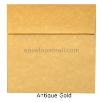 "Magna Carte Antique Gold - Square (5-1/2 x 5-1/2"") Envelope"