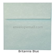 "Magna Carte Britannia Blue - Square (5-1/2 x 5-1/2"") Envelope"
