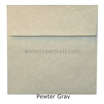 "Magna Carte Pewter Gray - Square (6-1/2 x 6-1/2"") Envelope"
