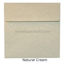"Magna Carte Natural Cream - Square (5-1/2 x 5-1/2"") Envelope"