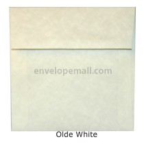 "Magna Carte Olde White - Square (5-1/2 x 5-1/2"") Envelope"