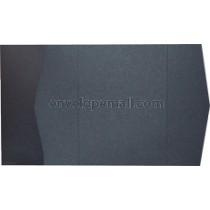 "Stardream Onyx 105 lb Cover - Pocket Invitation A7,  5 x 7"" , 25 Pack"