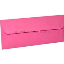 "Astrobright Pulsar Pink 4-1/8 x 9-1/2"", (No 10 Sq. Flap) Envelope"
