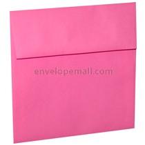 "Astrobright Pulsar Pink 5-1/2 x 5-1/2"" (Square) Envelope 100 Pack"