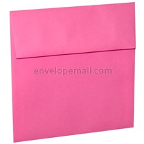"Astrobright Pulsar Pink 6-1/2 x 6-1/2"" (Square) Envelope 100 Pack"