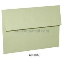 Loop Linen Citrus Green 5-1/2 x 5-1/2 Square Envelope