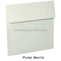 "Loop Linen Pure White - Square (6-1/2 x 6-1/2"") Envelope 100 Pack"