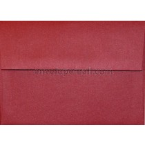 "Curious Metallic Red Lacquer - A2 (4-3/8 x 5-3/4"")  Envelope"