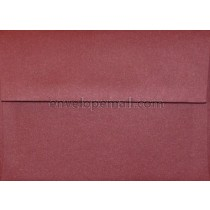 "Curious Metallic Red Lacquer 4Bar  3-5/8 x 5-1/8"" Envelope"
