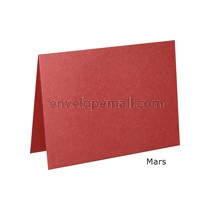 "Stardream Mars 105 lb Cover - A2 Folded Card 4-1/4 x 5-1/2"" 50 Pack"