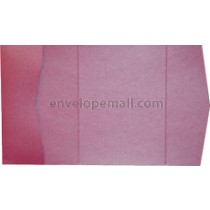 "Stardream Azalea 105 lb Cover - Pocket Invitation A7,  5 x 7"" , 25 Pack"