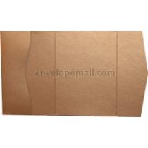 """Stardream Copper 105 lb Cover - Pocket Invitation A7,  5 x 7"""" , 25 Pack"""