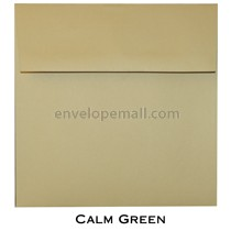 "Synergy Smooth Calm Green - Square (6-1/2 x 6-1/2"") Envelope"