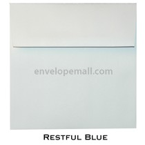 "Synergy Smooth Restful Blue - Square (6-1/2 x 6-1/2"") Envelope 100 Pack"