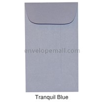 "Synergy Smooth Tranquil Blue - Mini Open End (2-1/4 x 3-3/4"") Envelope 100 Pack"