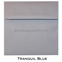 "Synergy Smooth Tranquil Blue - Square (6-1/2 x 6-1/2"") Envelope 100 Pack"