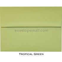 "Synergy Smooth Tropical Green - A2 (4-3/8 x 5-3/4"") Envelope"