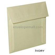 "Translucent Ivory - Square (6-1/2 x 6-1/2"") Envelope"