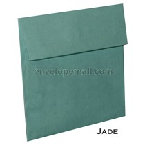 "Translucent Jade - Square (6-1/2 x 6-1/2"") Envelope"