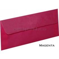 """Translucent Magenta - No 10 Sq Flap (4-1/8 x 9-1/2"""") Envelope"""