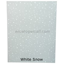 "Translucent Holiday White Snow 30 lb Bond - Sheets 8-1/2 x 11"" 100 Pack"