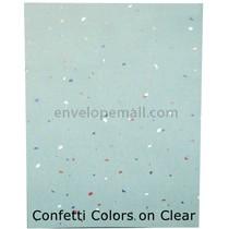 Translucent Confetti Colors 30 lb Bond - Sheets 8-1/2 x 11