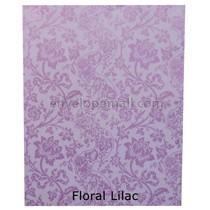 "Translucent Floral Lilac 30 lb Bond - Sheets 8-1/2 x 11"" 100 Pack"