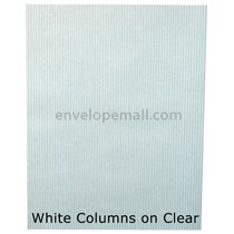 "Translucent White Columns 30 lb Bond - Sheets 8-1/2 x 11"" 100 Pack"