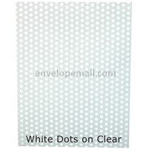 "Translucent White Dots 30 lb Bond - Sheets 8-1/2 x 11"" 100 Pack"