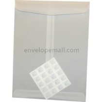 "Translucent Clear 10 x 13"" (Catalog) Envelope"