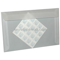 "Translucent Clear A-10 6 x 9-1/2"" (Booklet) Envelope 100 Pack"