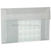 "Translucent Clear 6x9"" Booklet Envelope"