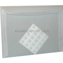 "Translucent Clear 8-3/4 x11-1/2"" Booklet Envelope"