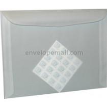 "Translucent Clear 9 x 12"" Booklet Envelope"