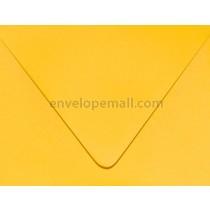 "Carnival Yellow ""Euro Flap"" 3-5/8 x 5-1/8"" (4Bar) Envelope"