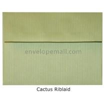 """Riblaid Cactus - A2 (4-3/8 x 5-3/4"""") Envelope"""