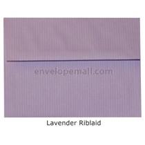 "Riblaid Lavender - A7 (5-1/4 x 7-1/4"") Envelope"