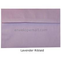 "Riblaid Lavender - Booklet (6 x 9"") Envelope"