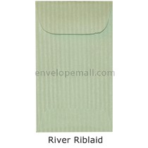 "Riblaid River - Mini Open End (2-1/4 x 3-3/4"") Envelope 100 Pack"