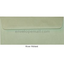 "Riblaid River - No 10 Sq Flap (4-1/8 x 9-1/2"") Envelope"