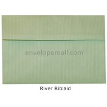 "Riblaid River - Booklet (6 x 9"") Envelope"