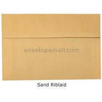 "Riblaid Sand - Booklet (6 x 9"") Envelope"