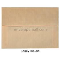 "Riblaid Sand - A6 (4-3/4 x 6-1/2"") Envelope"
