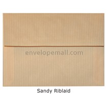 "Riblaid Sand - A7 (5-1/4 x 7-1/4"") Envelope"